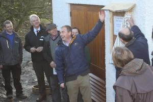 Tim Farron MP launches Killington hydro scheme by Community Energy Cumbria